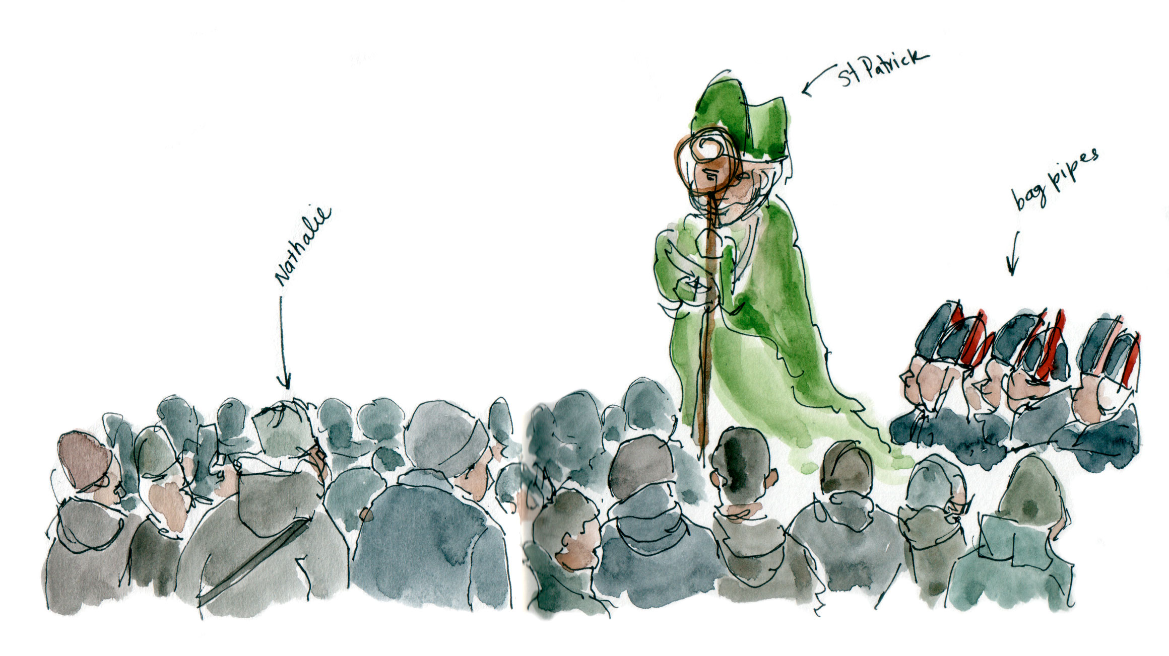 St Patrick's Parade start