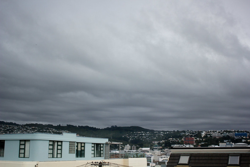 Sunday, March 17: The North Island is officially in a drought so these dark clouds were much wished for. A couple of days of rain takes the edge off but we're not in the clear quite yet.