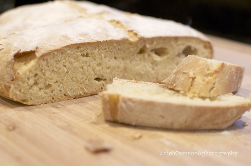 Fresh-baked Irish Soda Bread
