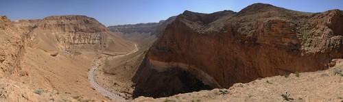 panorama landscape israel gorge deadsea tzeelim