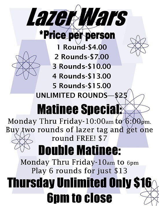 Laser Tag Matinee at BattleGroundZ in Massachusetts