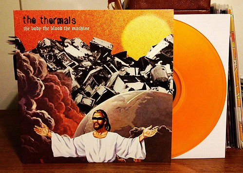 The Thermals - The Body The Blood The Machine LP - Orange Vinyl by Tim PopKid
