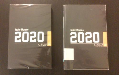 Javier Moreno 2020 Portada Libro Lengua de Trapo