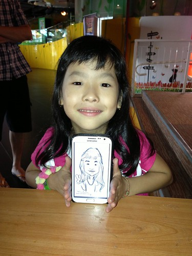 digital caricatures on Samsung Galaxy Note 2 for Stabilo - 7
