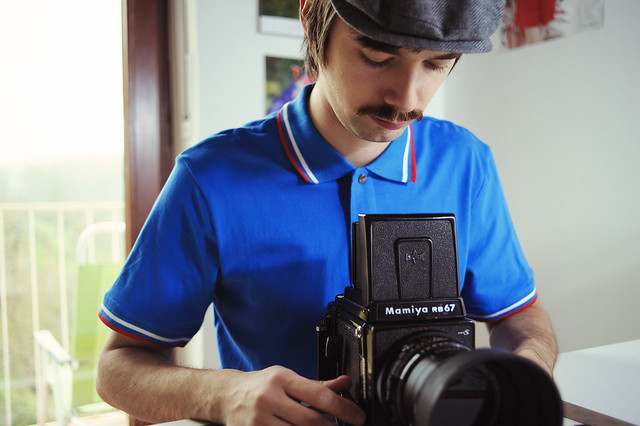 Me and my Mamiya RB67