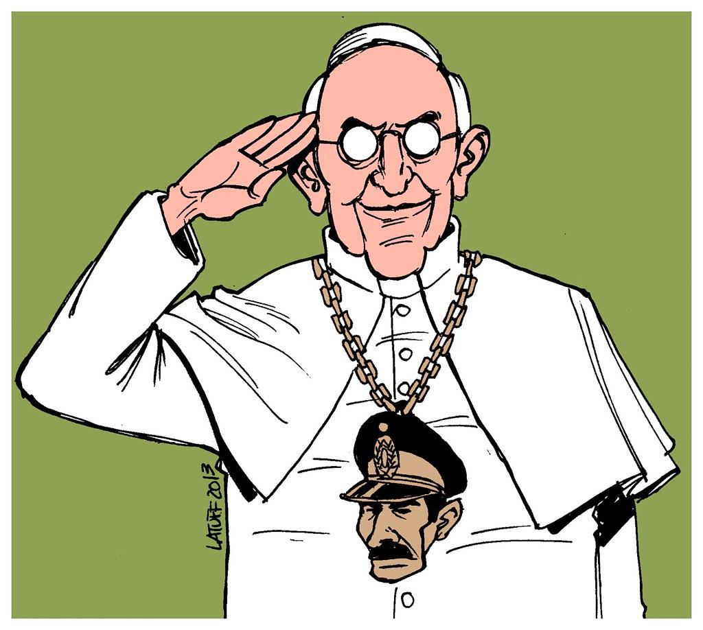 Bergoglio (papa Francisco) e a ditadura argentina, por Carlos Latuff
