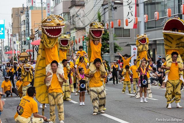 Festival Sansha Taisai de Hachinohe-60
