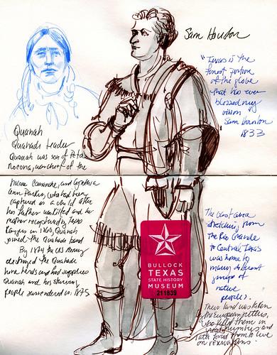Austin sketches: History