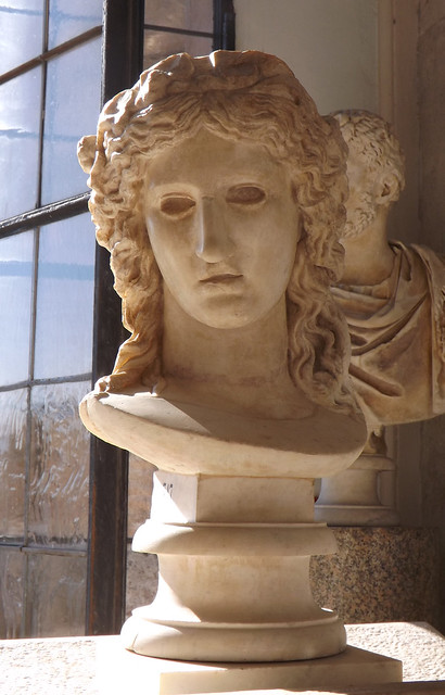 Bust of Dionysos in the Capitoline Museum, July 2012