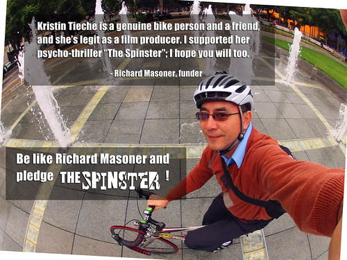 Richard Masoner backed The Spinster