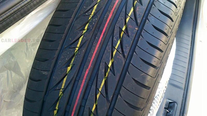 Рисунок протектора Bridgestone MY-02