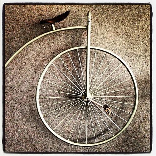 100 år gammal spinningcykel?