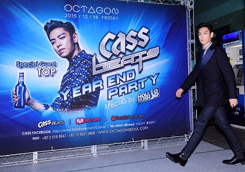 TOP - Cass Beats Year End Party - 18dec2015 - Cass.kr - 01