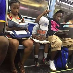 Because they are quiet and reading, learning. ... no one want to acknowledge that part of black life.....  lets change that and let the world know this is not rare but very common in Black Americans! !!