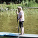 Mom stand up paddleboards