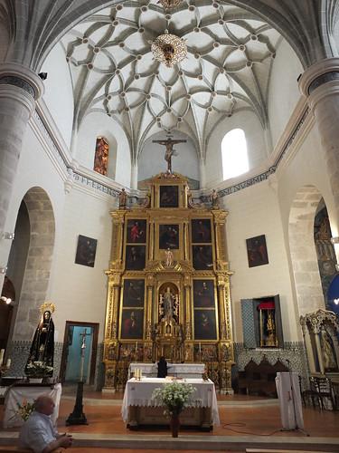 Iglesia de la Asunción de Nuestra Señora - Retablo mayor