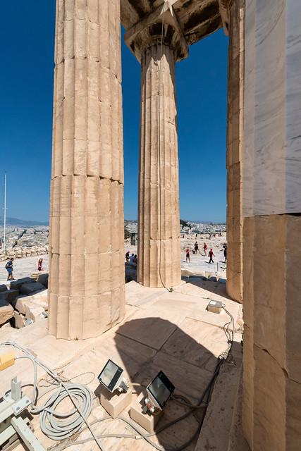Acropolis – XXV: Inside The Parthenon