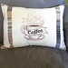 But First Coffee Pillow Cover Front