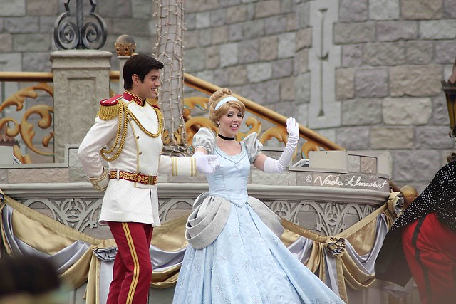 Disney characters - Flickr CC nalmashat89