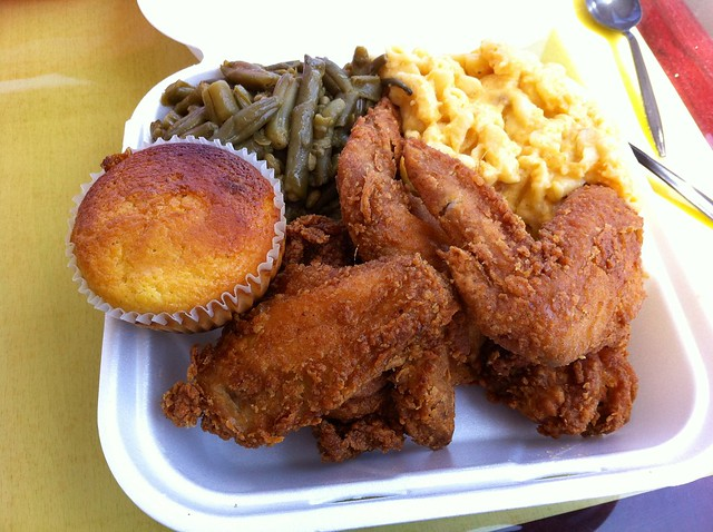 Fried chicken in Los Angeles