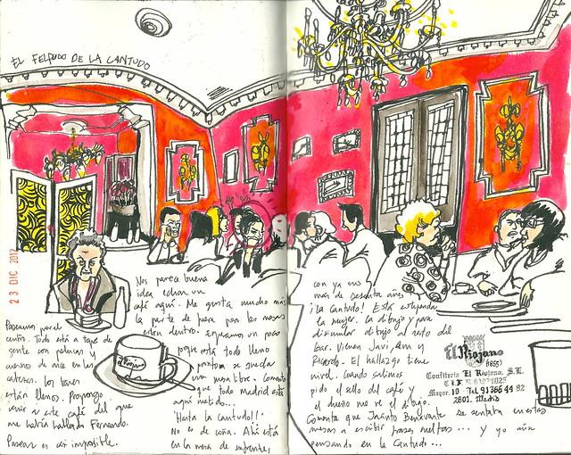 La Cantudo en El Riojano