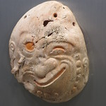 Abalone shell face mask