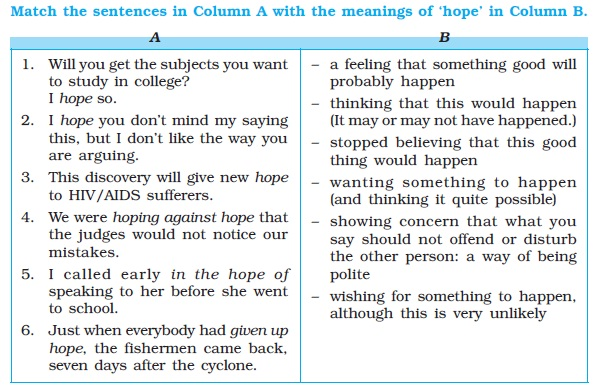 NCERT Class X English: Chapter 1 - A Letter to God