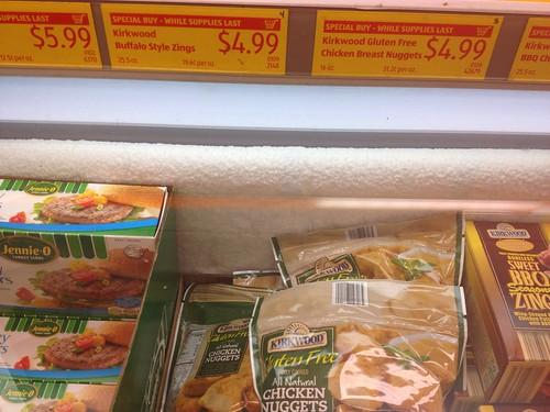 aldi gluten free chicken nugget shopping for 1  9  2013
