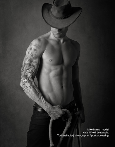 Round em Up - Cowboy by Toni Wallachy