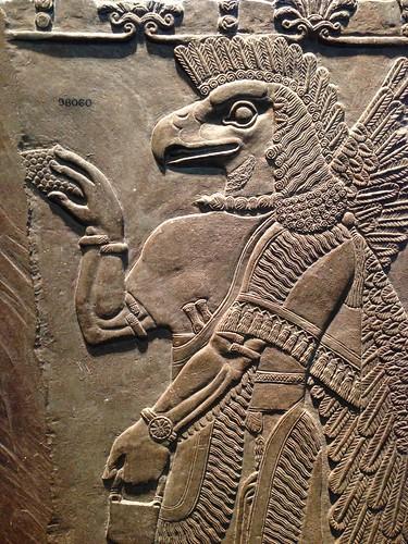 Basorelief Asirian, British Museum