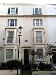 Photo of Jean Sibelius blue plaque
