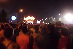 Starting fireworks