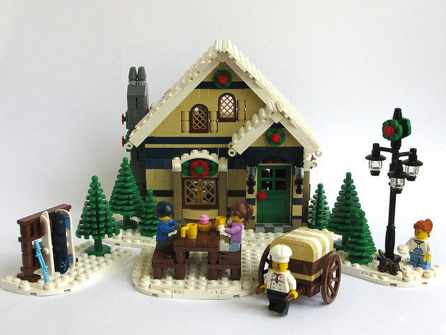 Winter Village Modularsbykristel