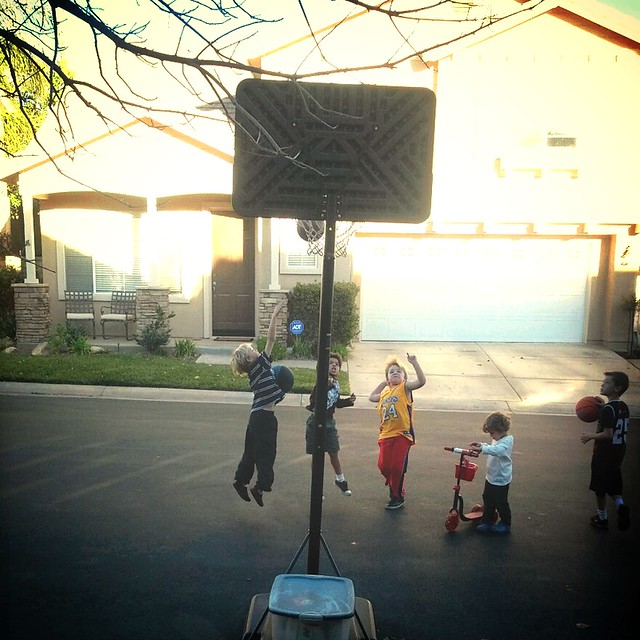 Hoops action