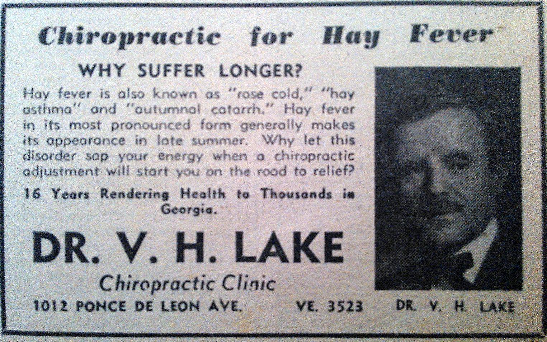 Dr. VH Lake