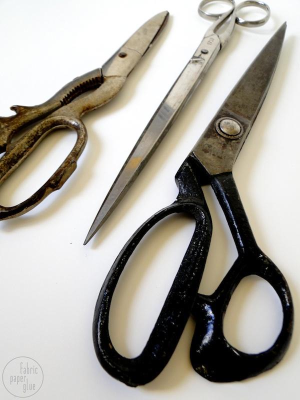 Vintage Scissor Art 2