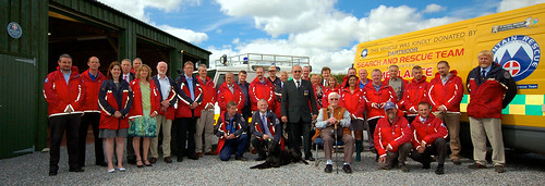 Dartmoor Search and Rescue members presented with Diamond Jubilee medals