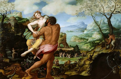 Alessandro Allori - The Abduction of Proserpine [1570] by Gandalf's Gallery