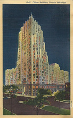 Fisher Building Postcard