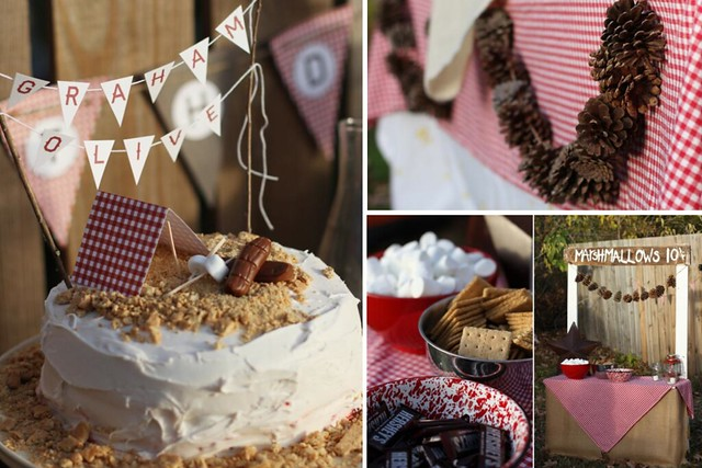 Camping-themed-birthday-party-via-Karas-Party-Ideas-karaspartyideas.com-camping-party-ideas-outdoors