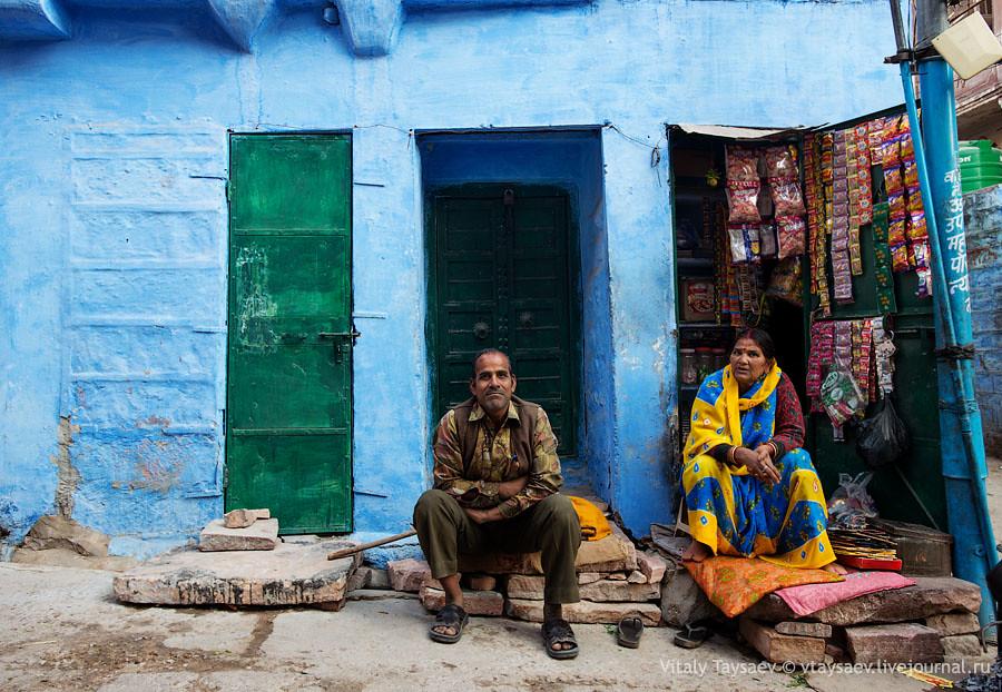 Street life of Jodhpur, Jodhpur, India