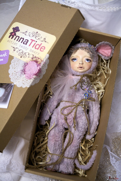 Mira is traveling to her new home ^__^