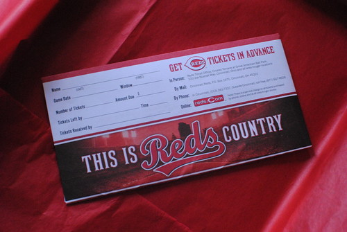 Reds gift certificates