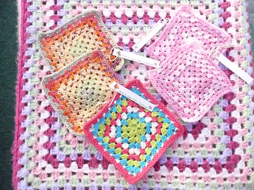 Squares for the Stash, so pretty!