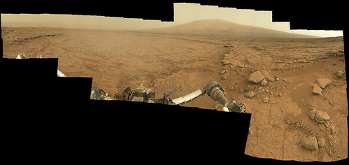 CURIOSITY SOL 170 mastCam Left panorama