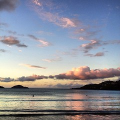 #MagensBay #Sunset #StThomas #STT #USVI #VirginIslands #unfiltered