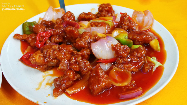 tiga sweet and sour pork