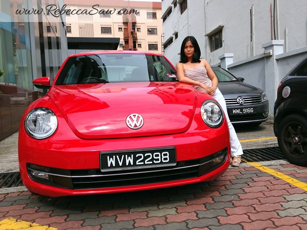 rebecca saw - VOLKSWAGEN The Beetle TSI