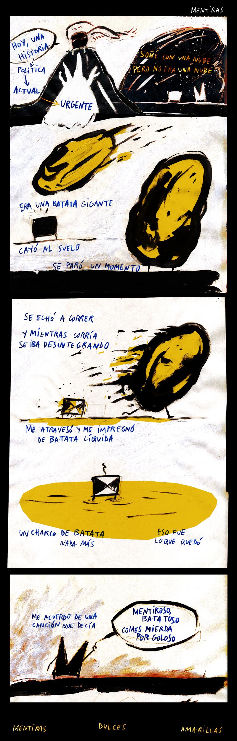 Mentiras comic espinita mataparda