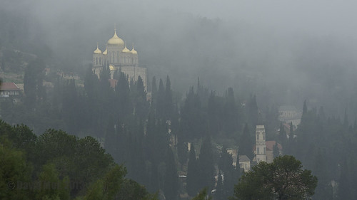 shadow mist church pine landscape gold ancient jerusalem hill dream cypress slope carlzeiss russianorthodox zf einkerem gorny churchofthevisitation makroplanart2100